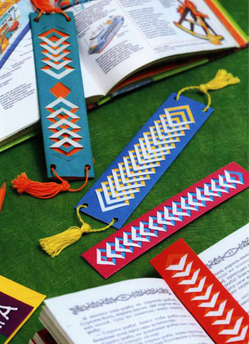 Закладки для книжки своими руками из бумаги