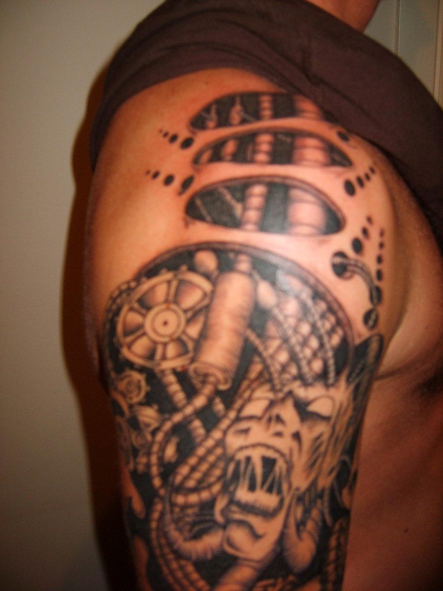 Татуировки биомеханика Искусство татуировки! Татуировки фото