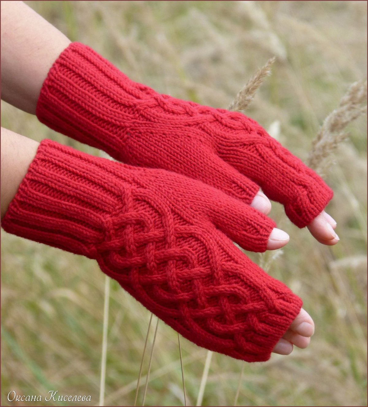 Страна мам вязание перчаток 97