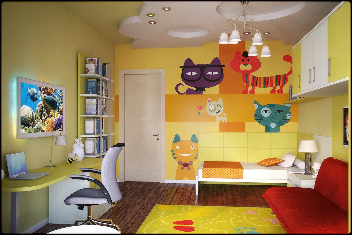 Лучшие дизайны интерьера детской