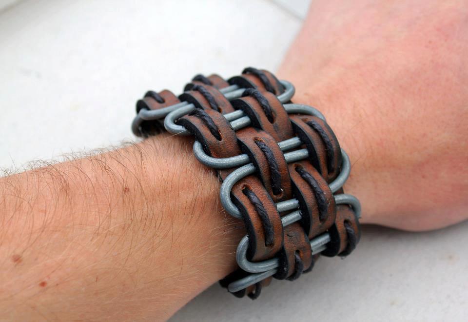 Как сделать мужской браслеты