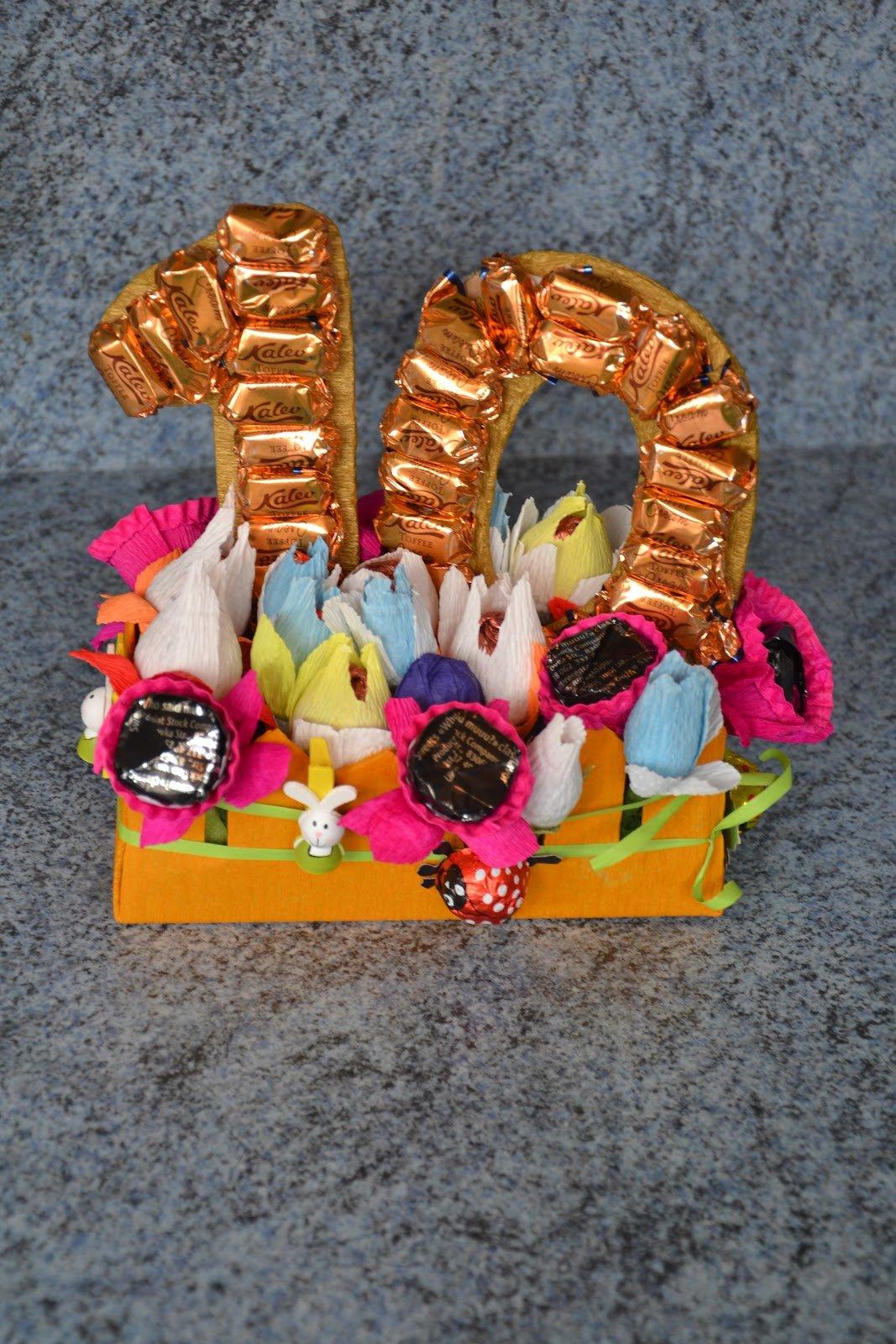 Сладкие подарки своими руками на день рождения коллеге