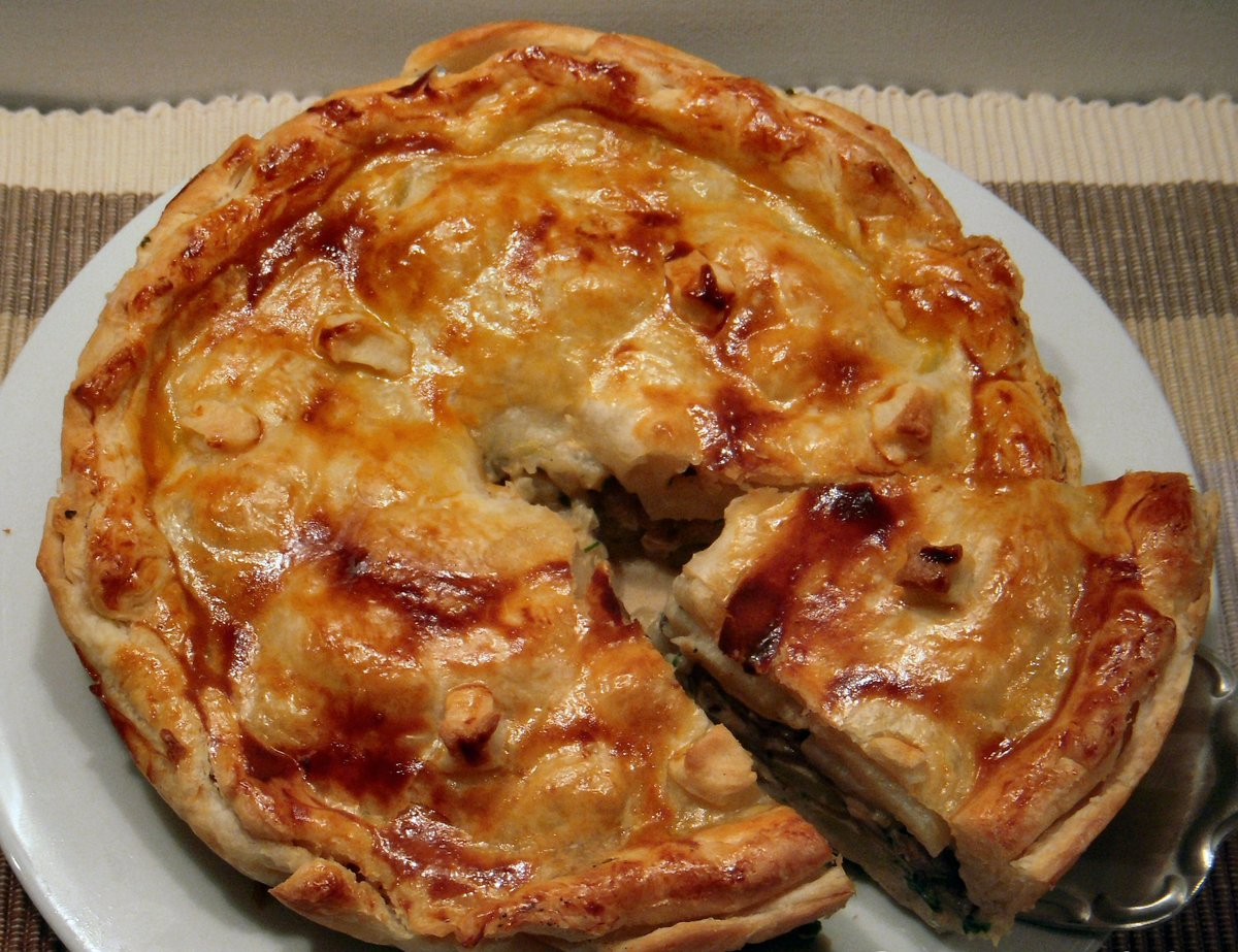 Пирожки печеные с грибами рецепт