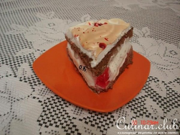 Торт мороженое рецепт пошагово