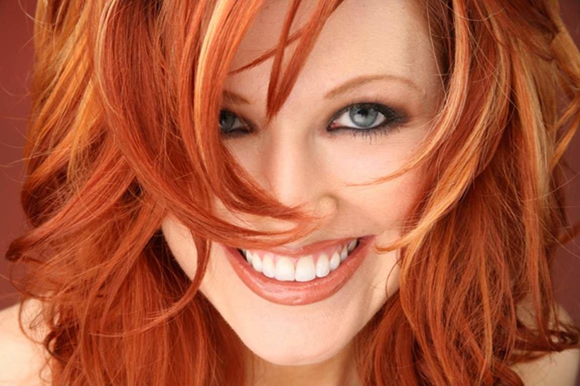Как сделать огненно-рыжие волосы