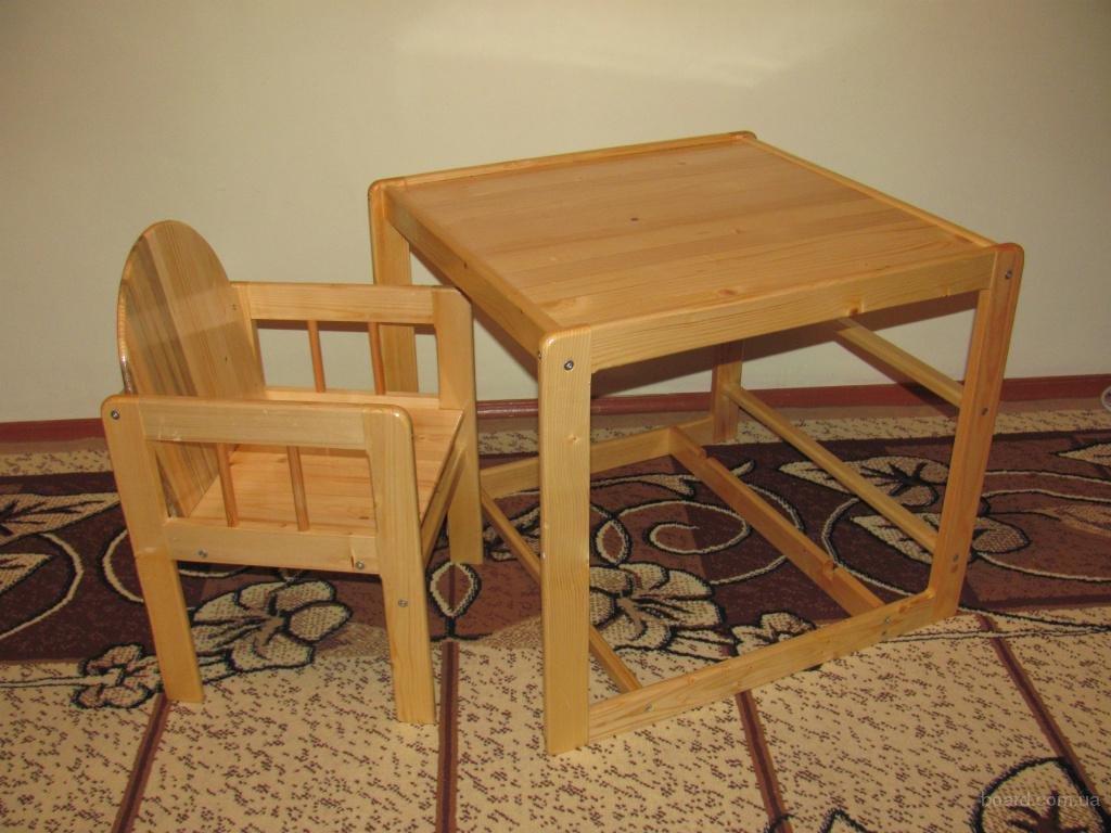 Как сделать детский стульчик-столик свои 64