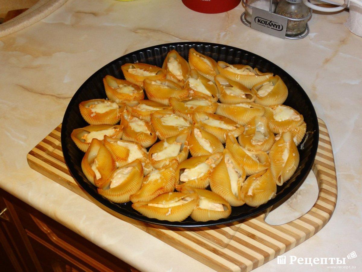 Пошаговые фото рецепты больших ракушках