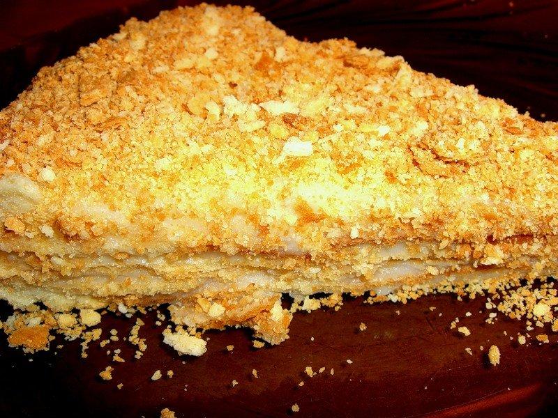 Торт наполеон пошаговая