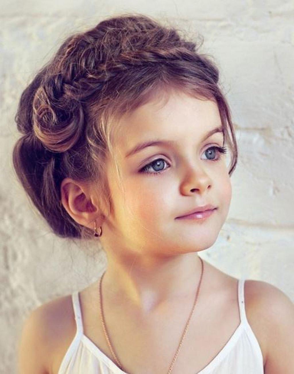Красивая прическа девочке фото