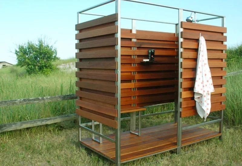 Летний душ на даче своими руками дешево