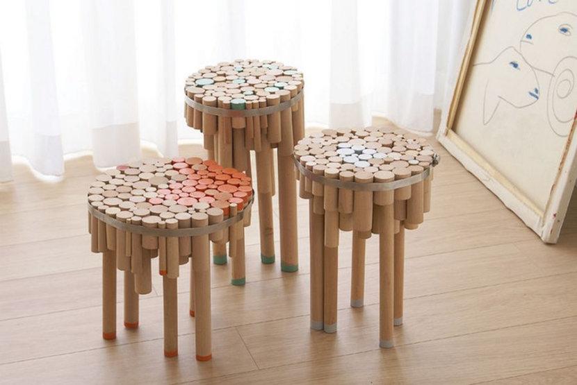Оригинальные стулья своими руками 22