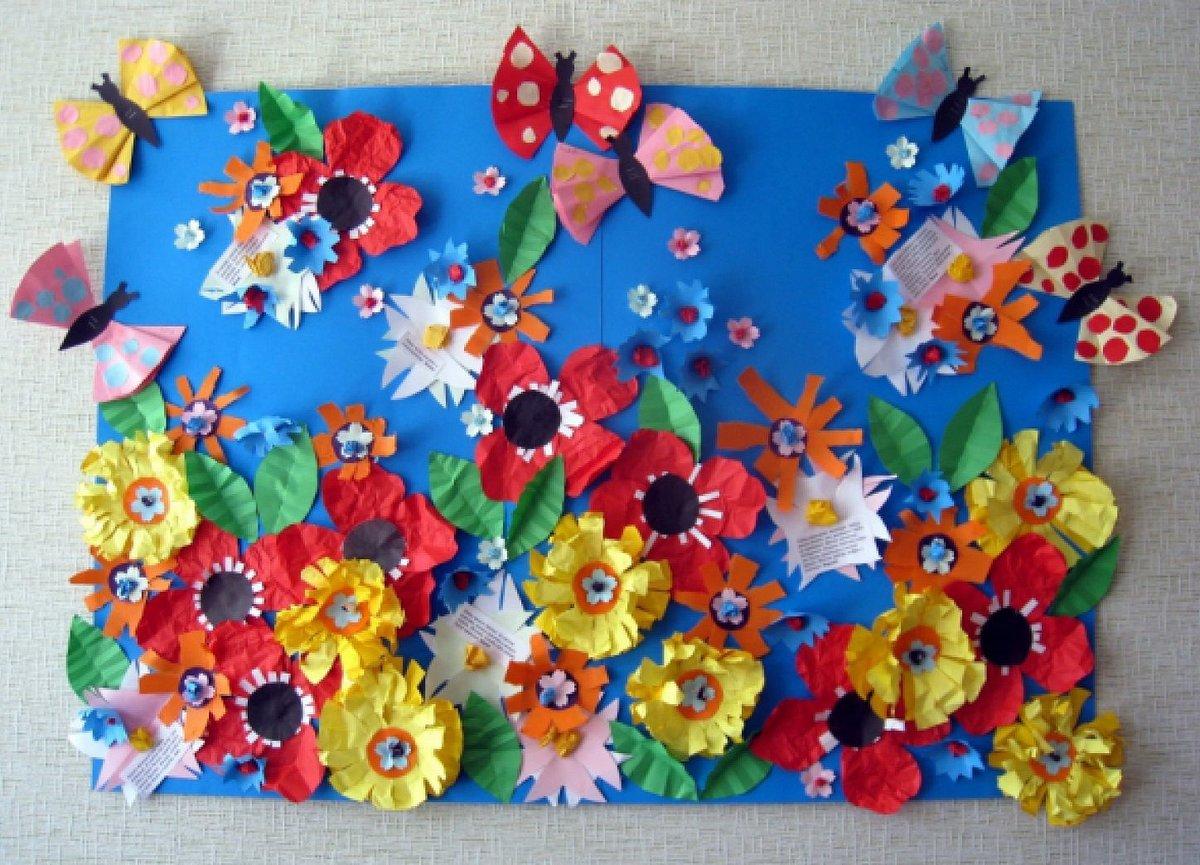 Поделка бабочка своими руками для детского сада 31