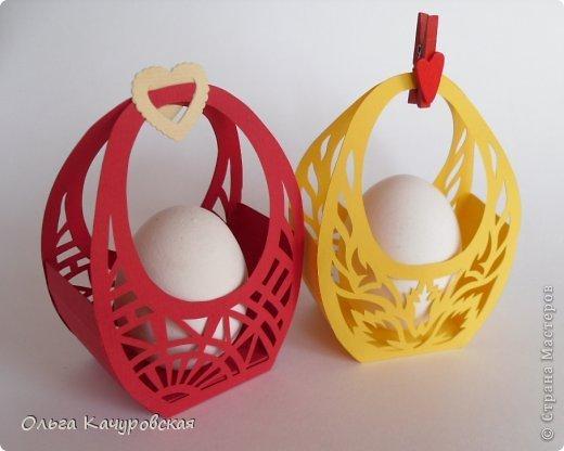 Упаковка своими руками для яйца
