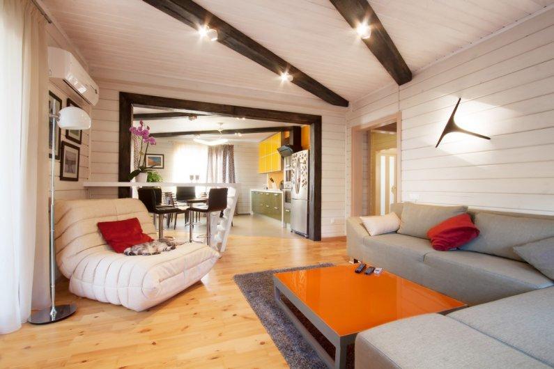 Интерьер гостиной: дизайн и фото оформления гостиных