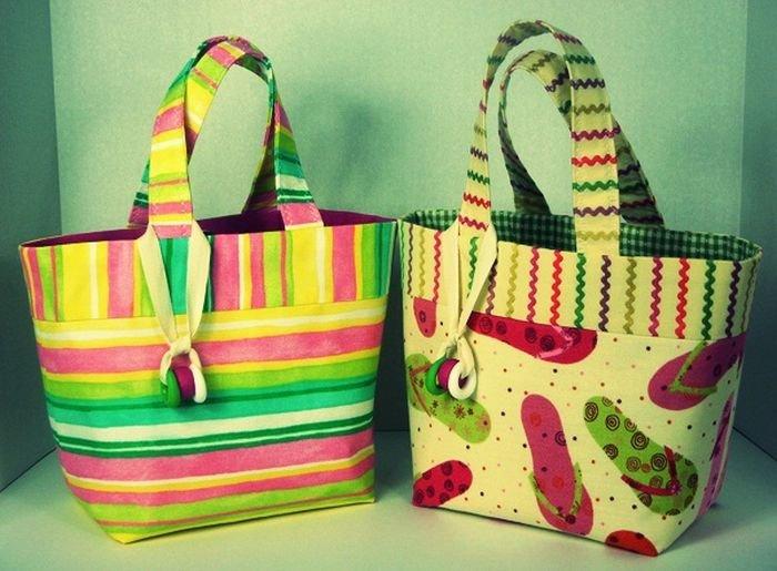 Пляжные сумки своими руками с фото и выкройкой 503