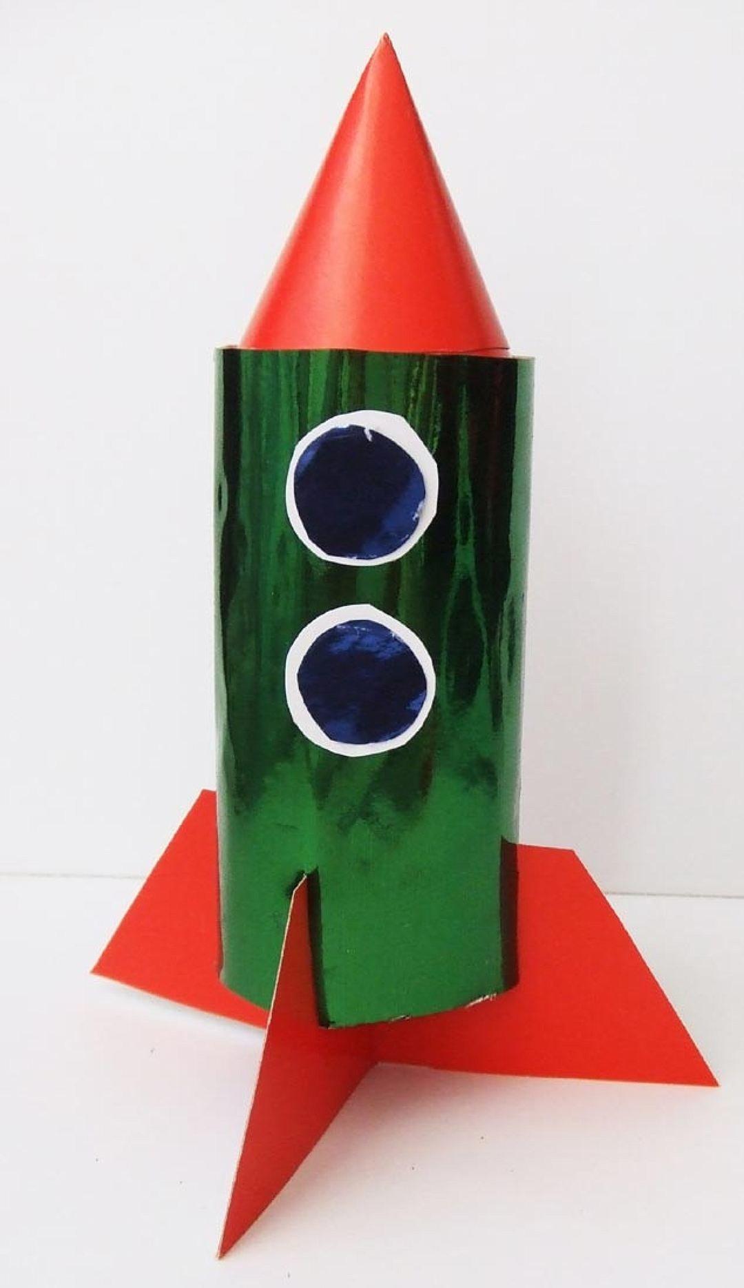 Поделки из бумаги своими руками ракета 23