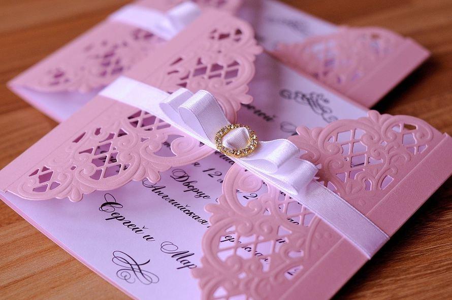 Как сделать пригласительные красивые на свадьбу
