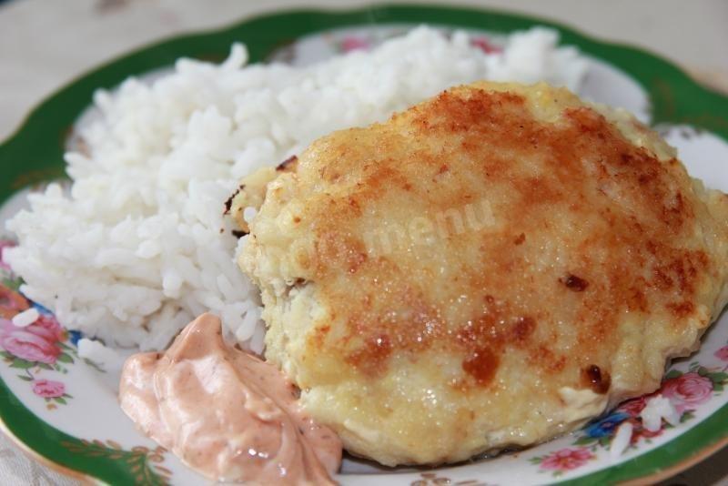 Рыбные котлеты пошаговый рецепт с фото