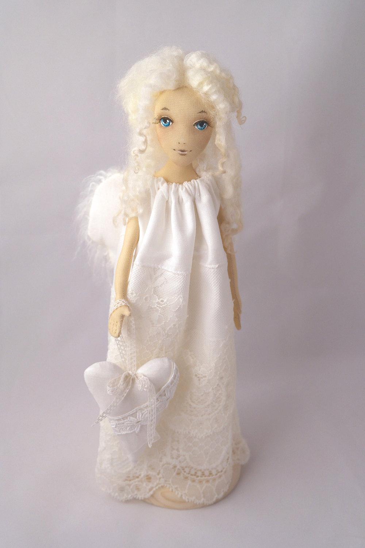 Авторская кукла ангел своими руками 76