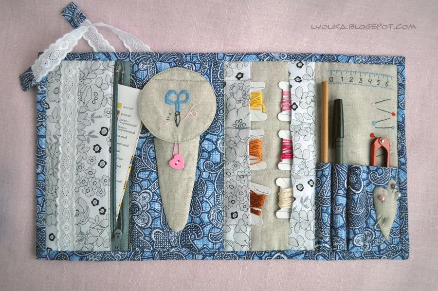 Органайзер для швейных принадлежностей своими руками мастер класс 11