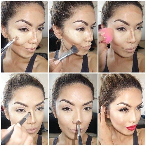 Как правильно наносить макияж на лицо в 50 лет 87
