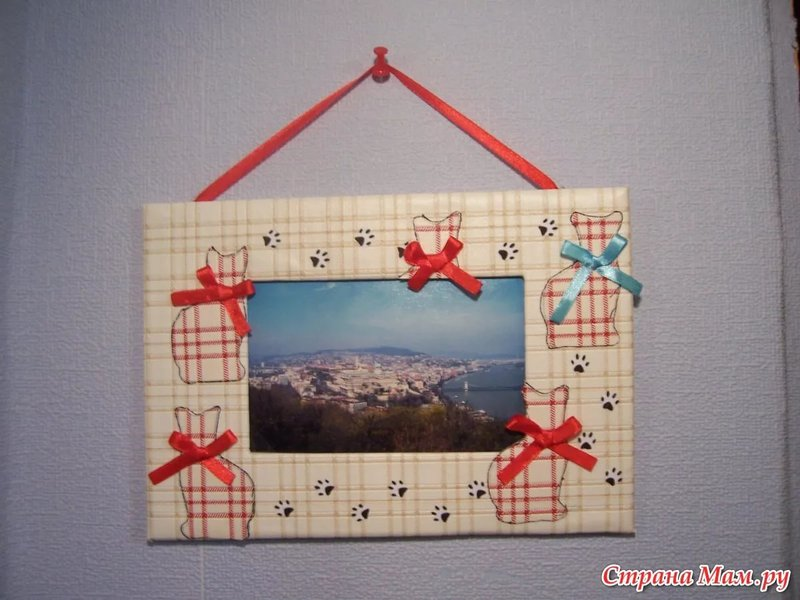 Рамки из картона своими руками для фото