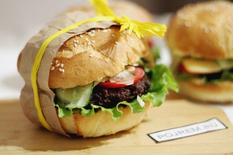 Как сделать домашний гамбургер с фото