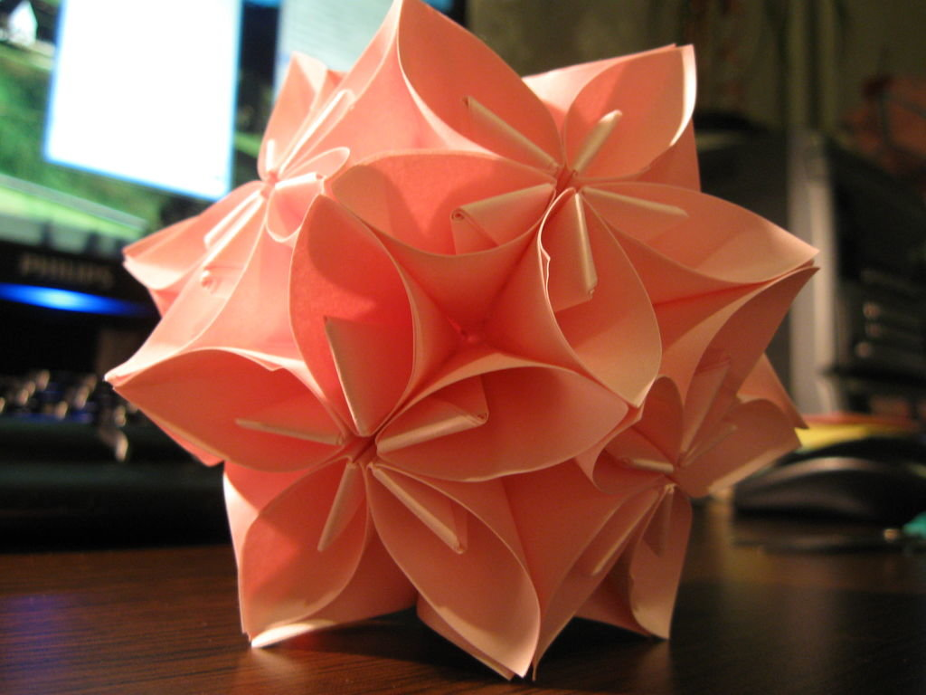 Объемный оригами своими руками 134