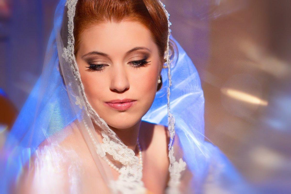 Свадебный макияж для рыжеволосых фото