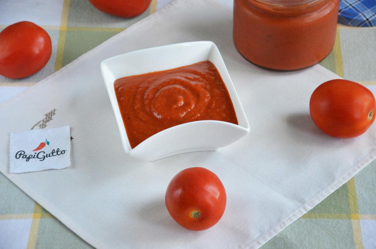 Домашний кетчуп из помидор рецепт пошагово