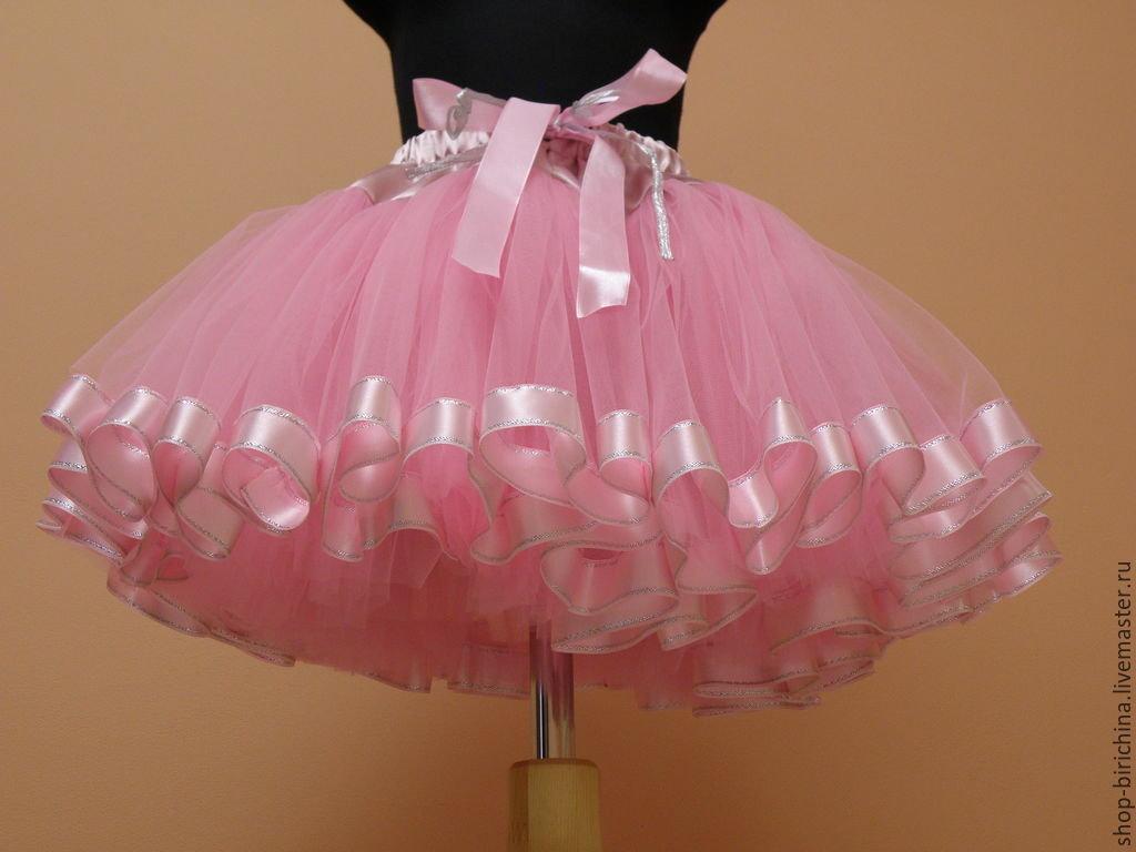 Сшить юбка из фатина для девочки 77