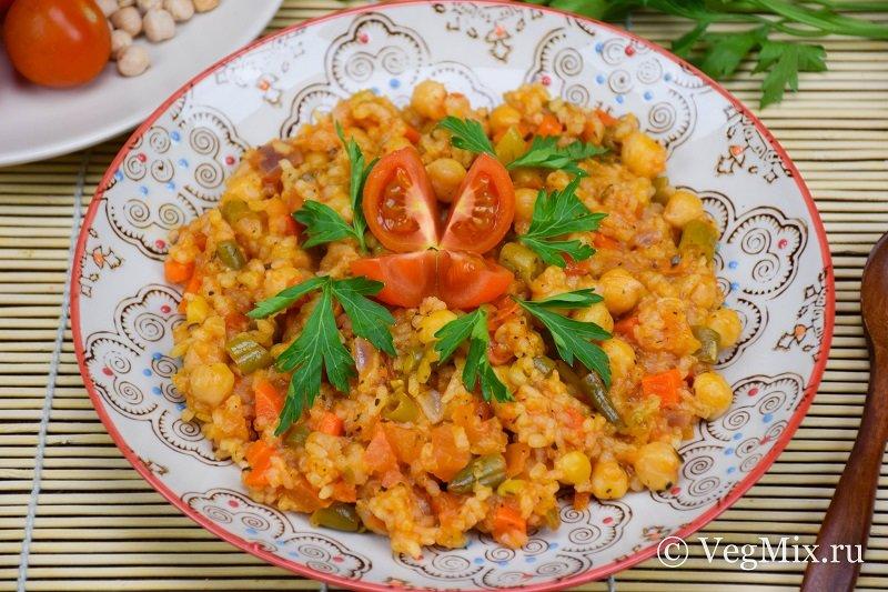 Вегетарианский с рисом