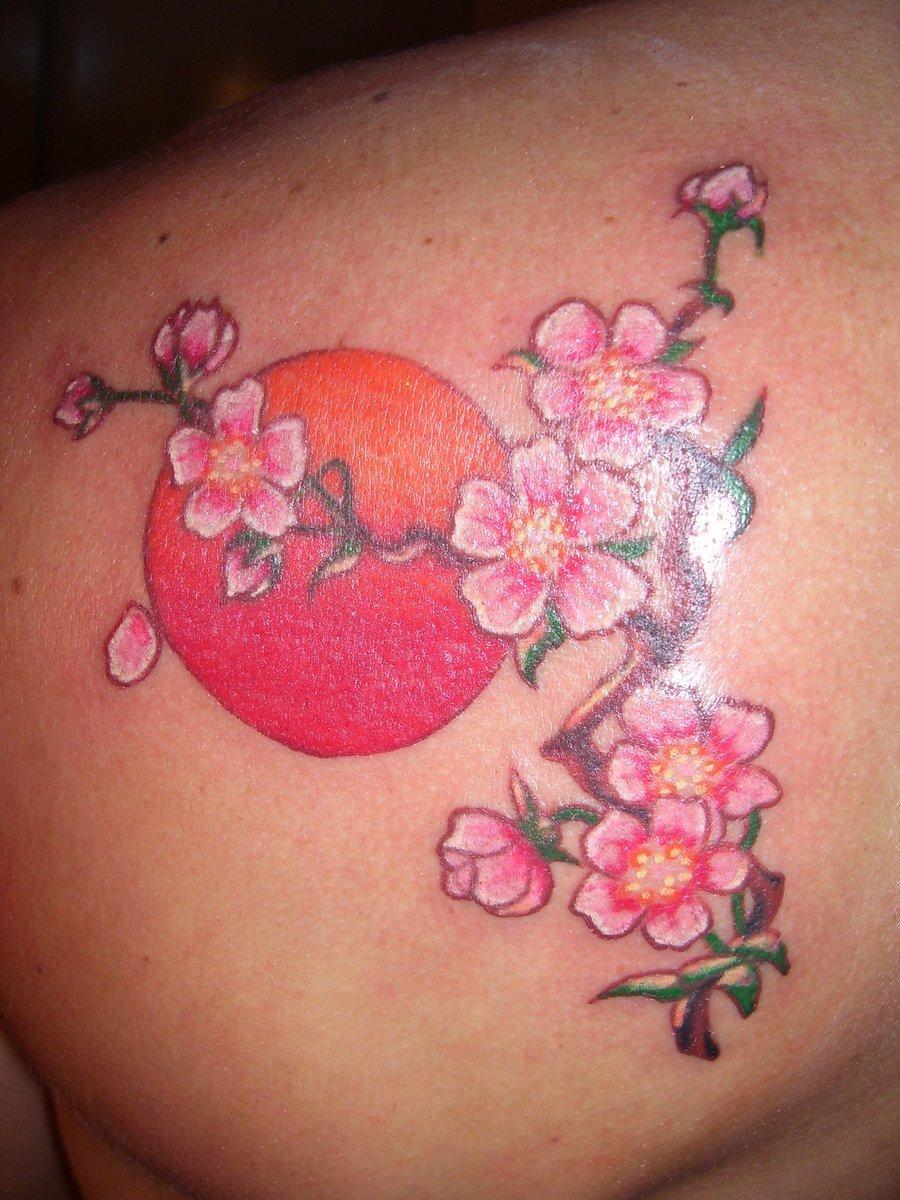 Значение тату сакура - Татуировки и их значение 253