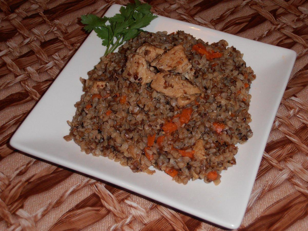 Рецепт гречневой каши с тушенкой в мультиварке