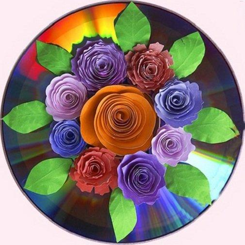 Цветы своими руками из подручных материалов поделка