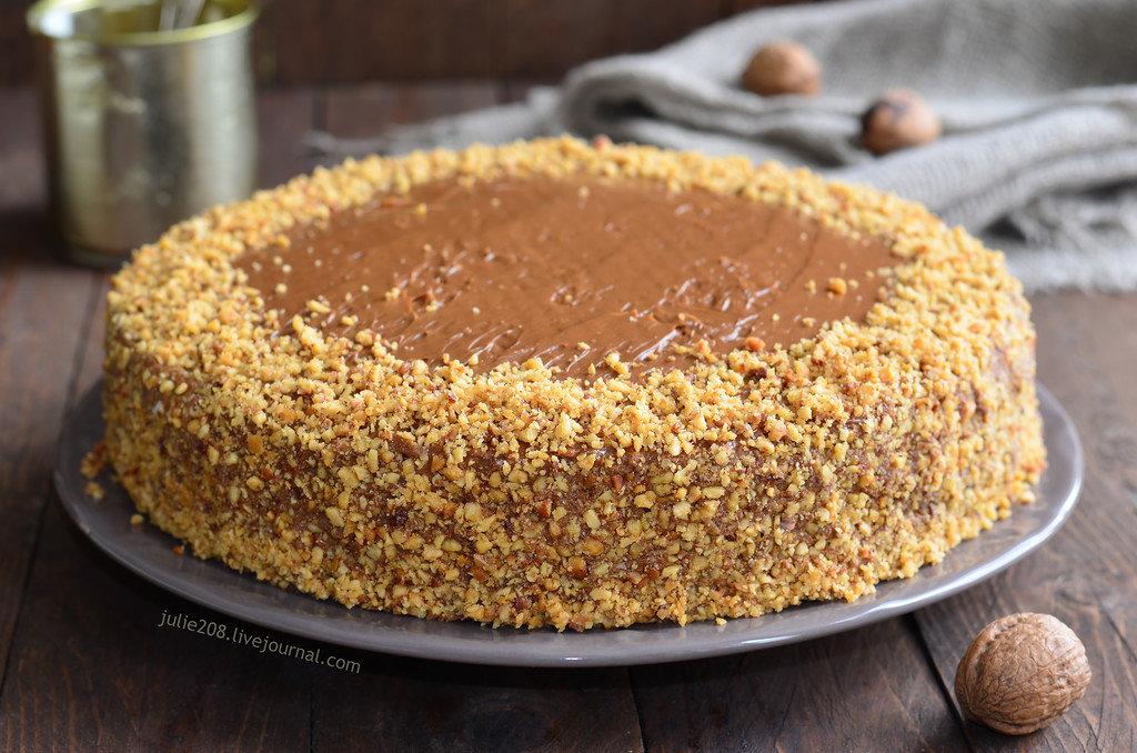 Рецепт tort вареная сгущенка