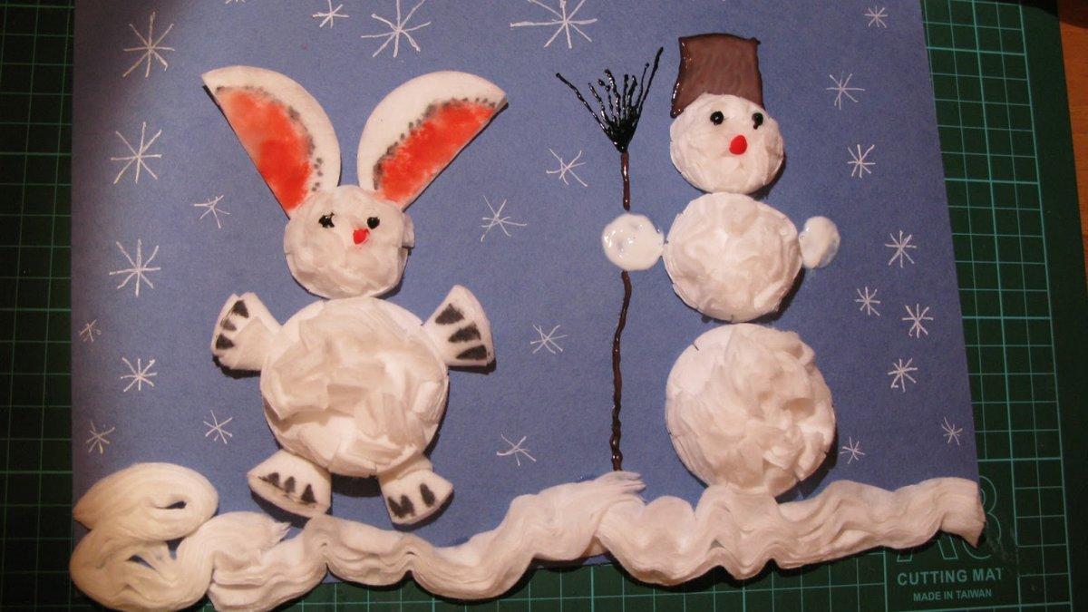 6 идей зимних поделок для выставки в детском саду и не только 62