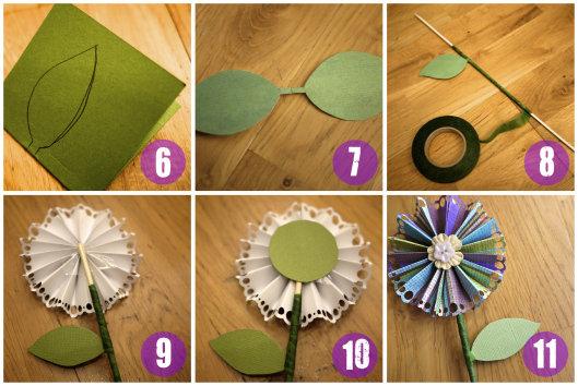 Как сделать поделку цветами своими руками 136