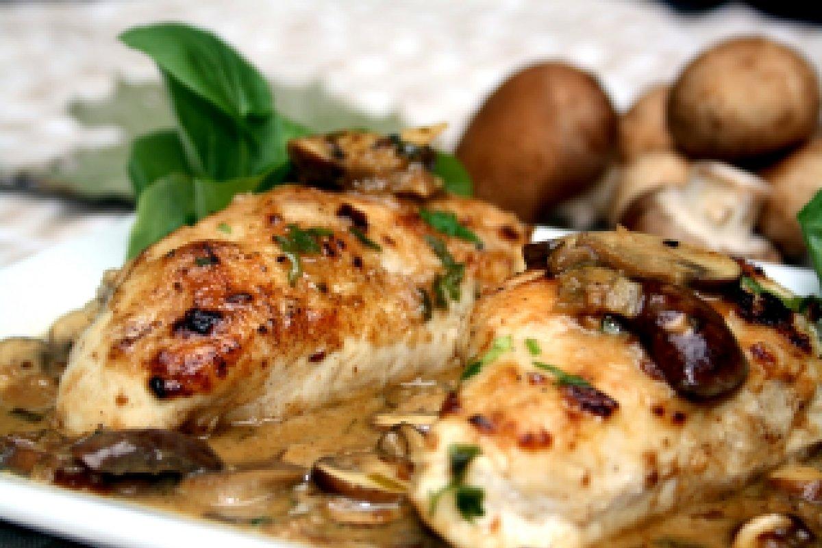 Фаршированное грибами филе курицы рецепты