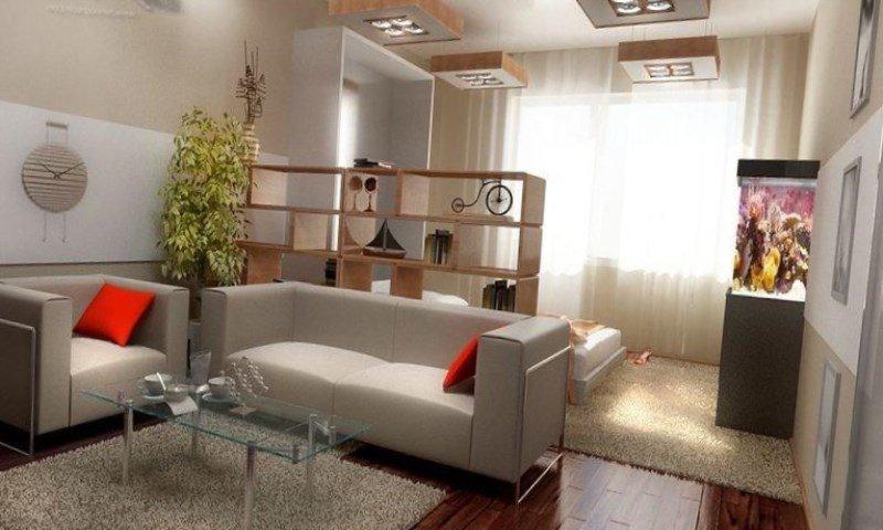 Фото интерьер однокомнатной квартиры хрущевки