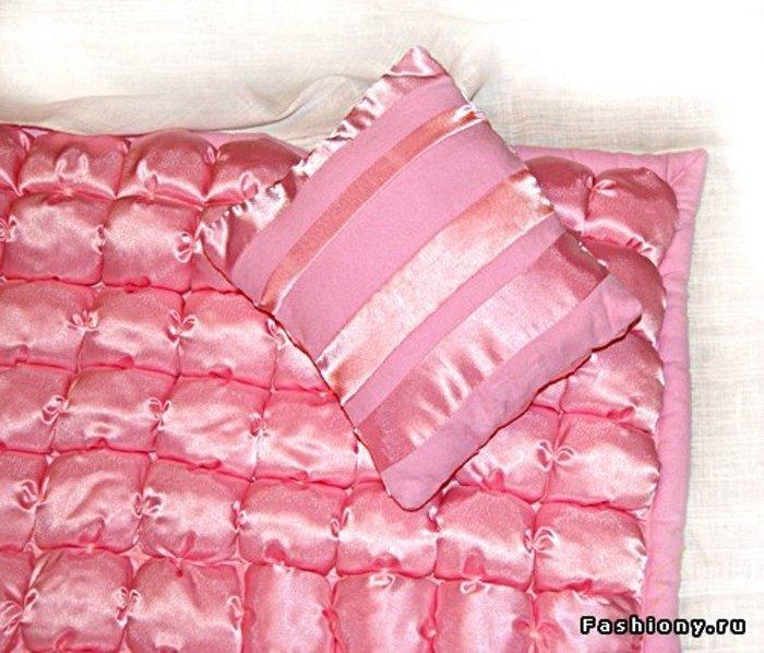 Как сшить одеяло подушку 7