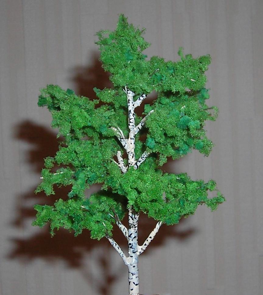 Из чего можно сделать дерево для поделки