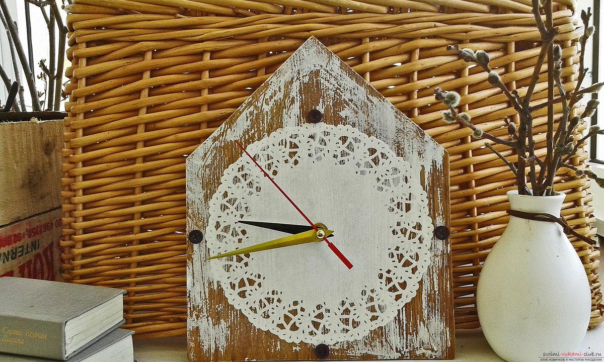 Часы своими руками : создаем из подручных материалов 12