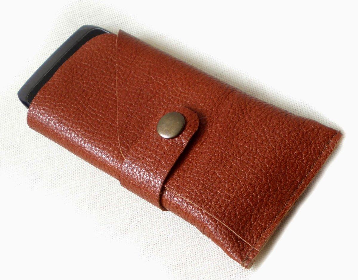 Мастер-класс по пошиву кожаного чехла для телефона (Iphone SE) 30