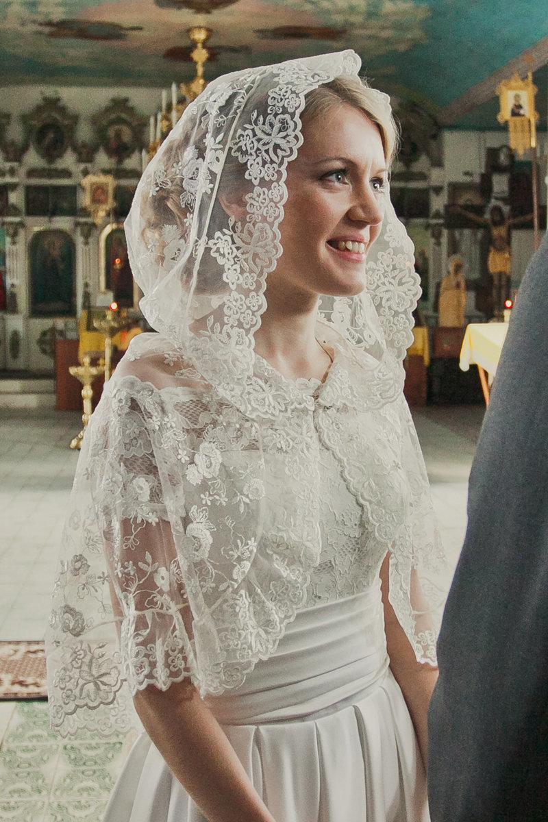Как сшить платок для венчания своими руками