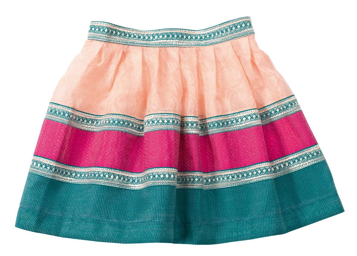 Как сшить юбку для девочки : мастер-класс. Как пошить юбку для девочки 13