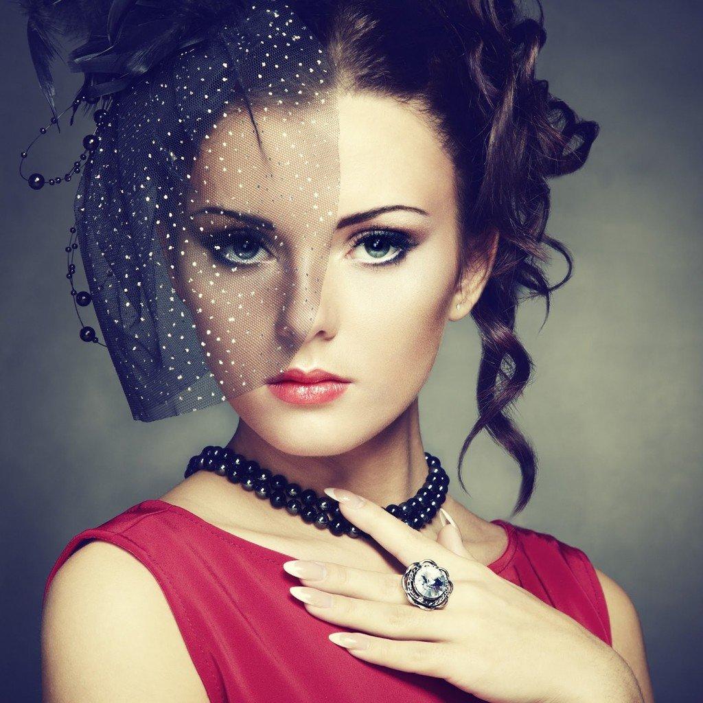 Макияж с карими глазами фото в стиле ретро