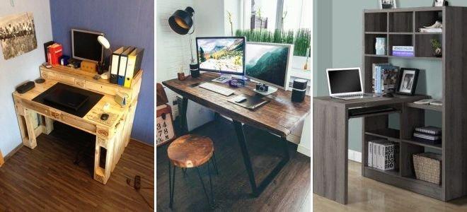 Своими руками сделать компьютерной стол