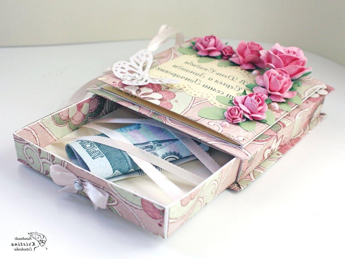 Как преподнести деньги в подарок на день рождения