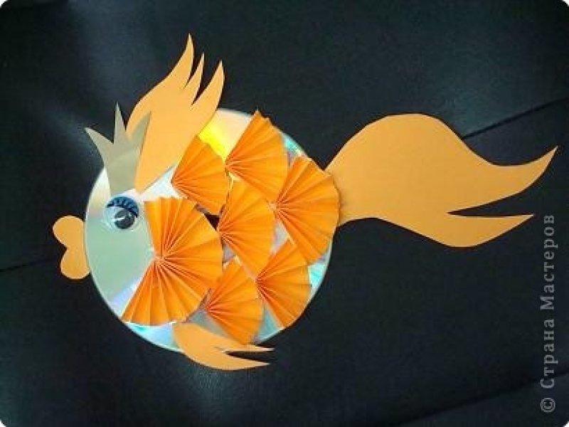Поделки своими руками золотая рыбка